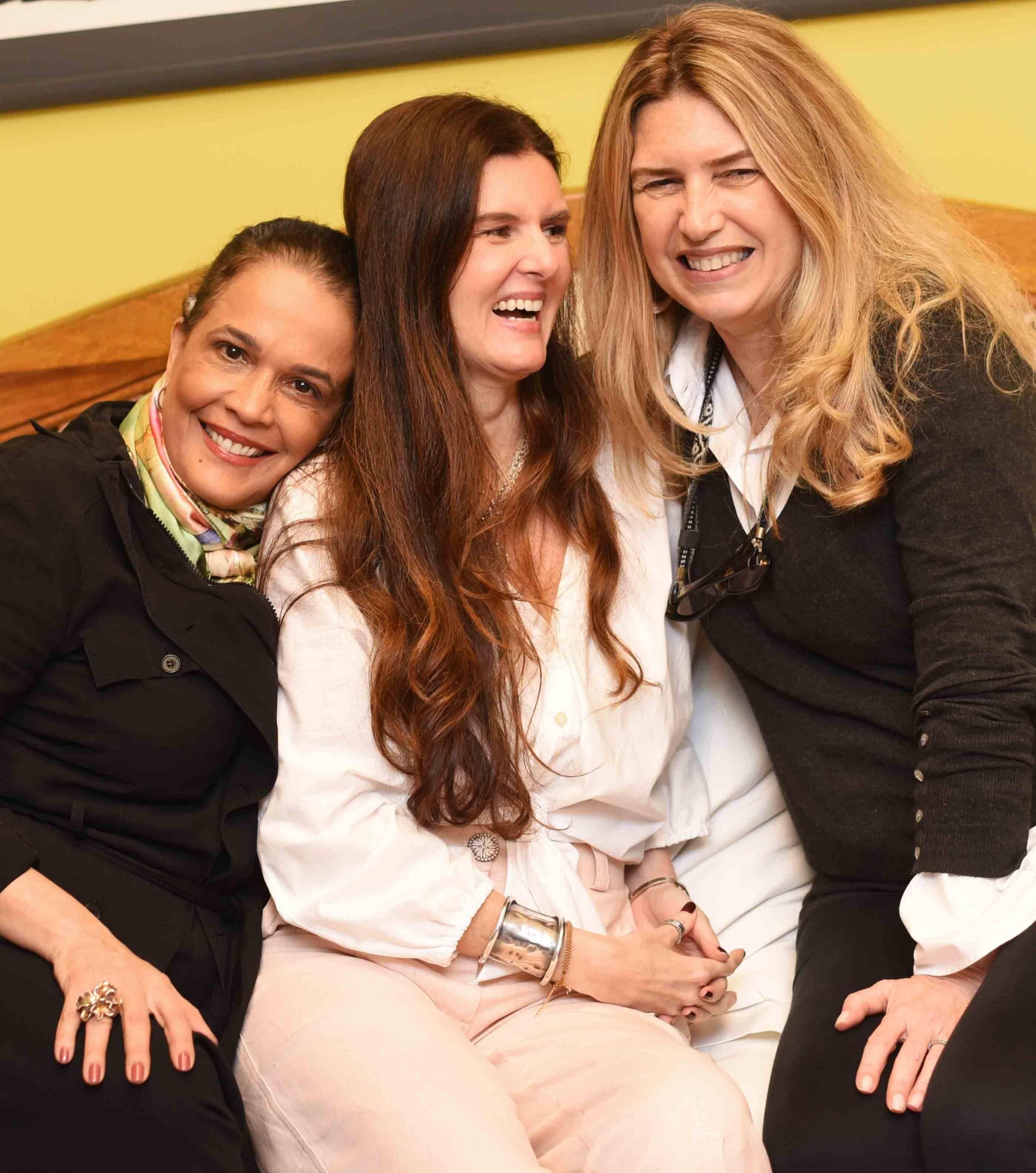 Marcia Kemp, Manuela Noronha e Crica Koeler /Foto: Ari Kaye