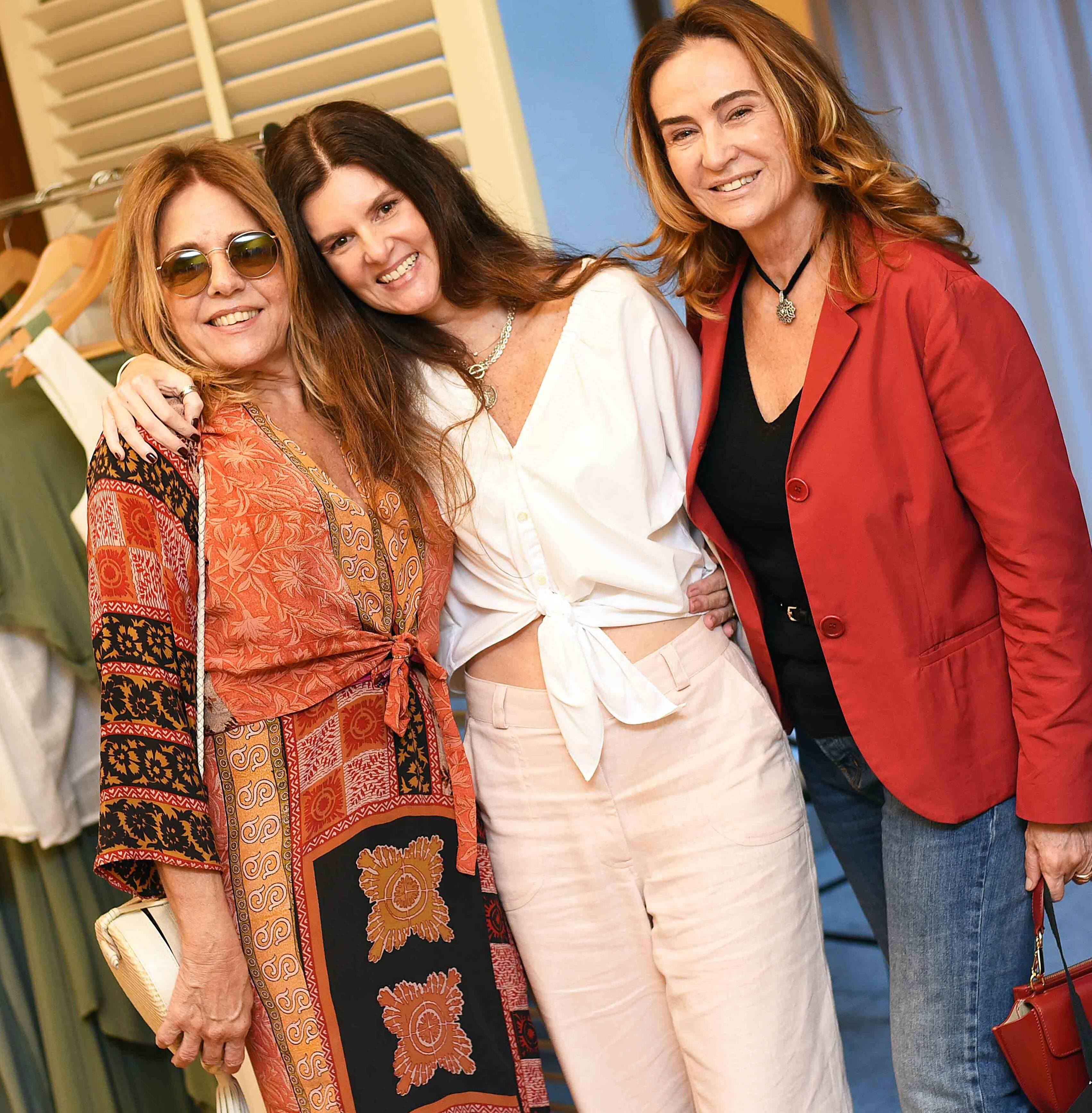 Patricia Alencar, Manuela Noronha e Marcia Zyngier /Foto: Ari Kaye