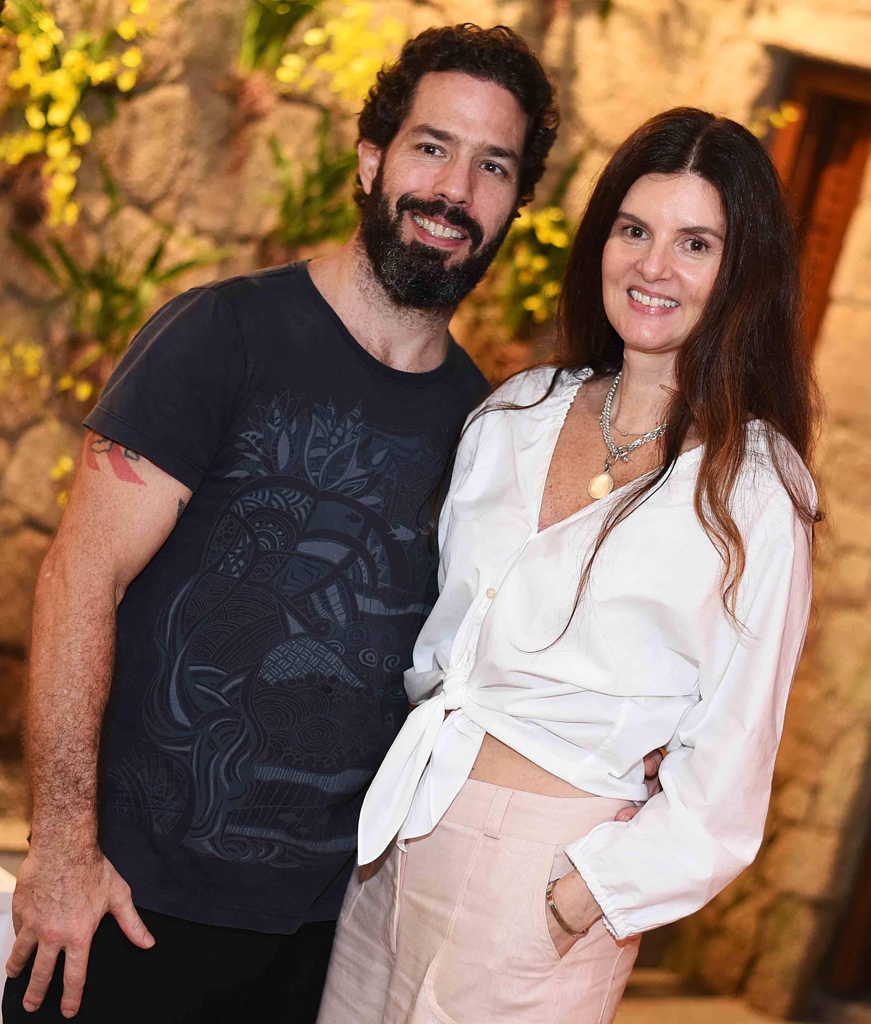 O casal André Werneck e Manuela Noronha /Foto: Ari Kaye