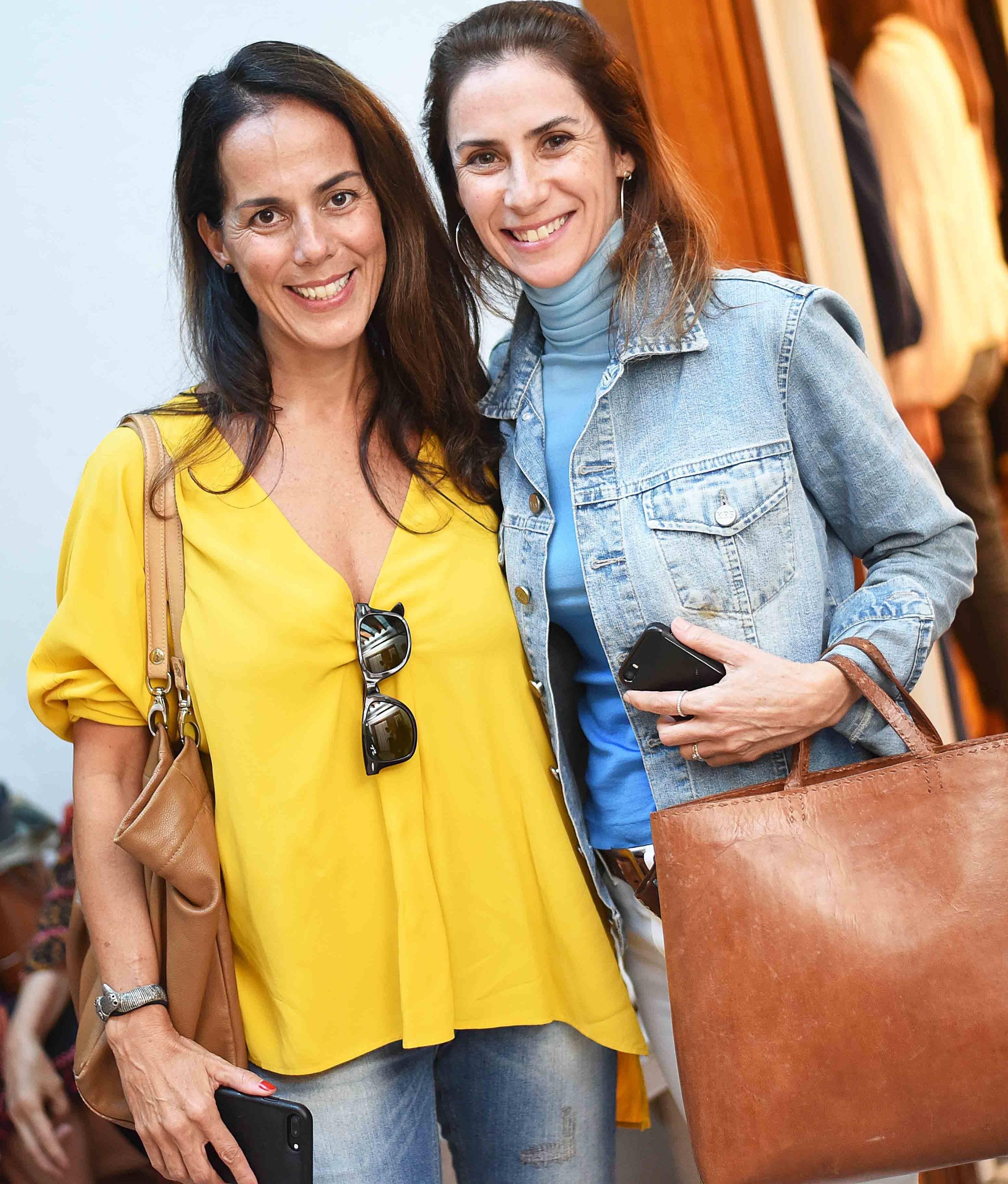 Claudia Garcia e Ana Luiza Osório /Foto: Ari Kaye