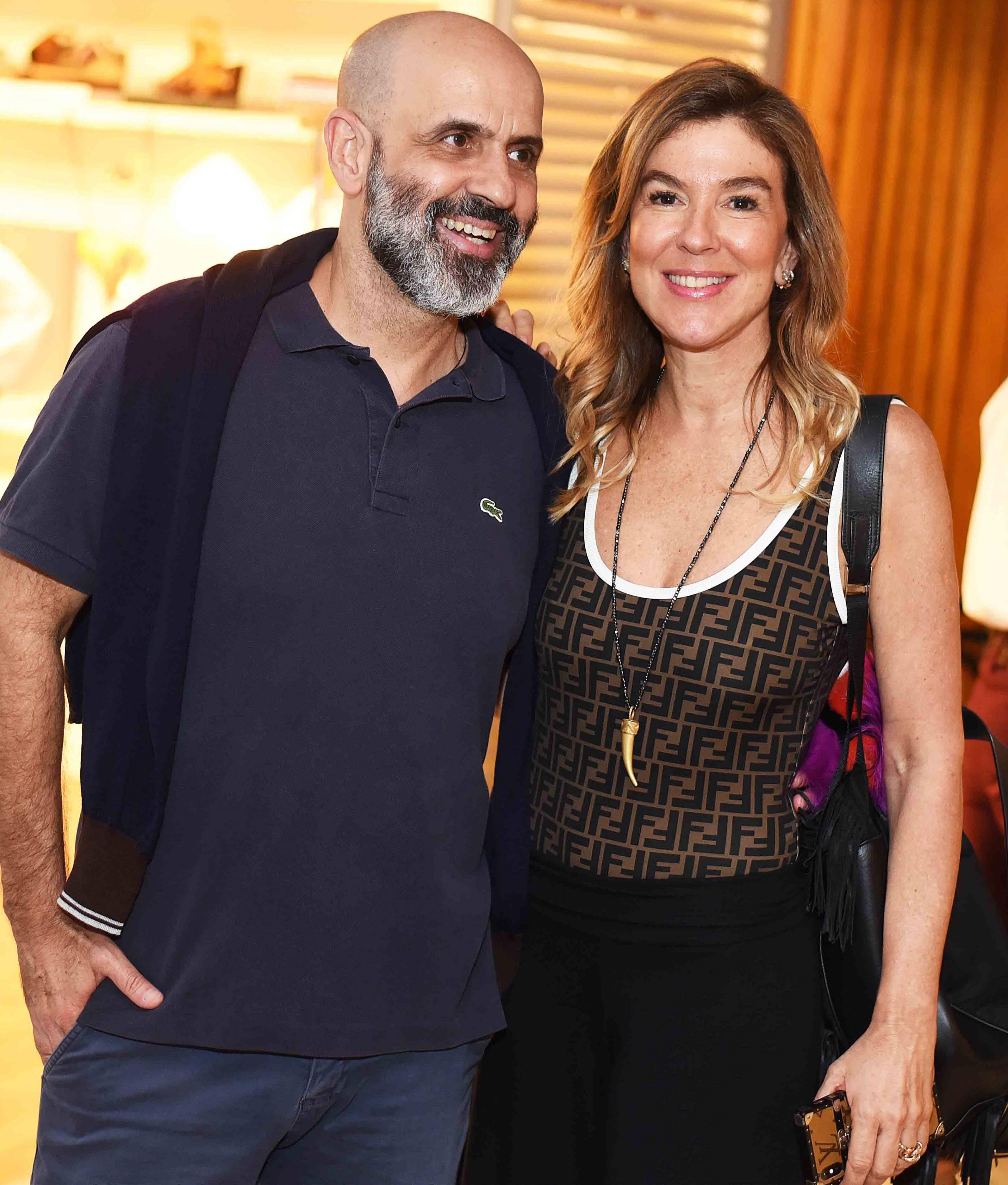 Claudio Gomes e Bete Floris /Foto: Ari Kaye
