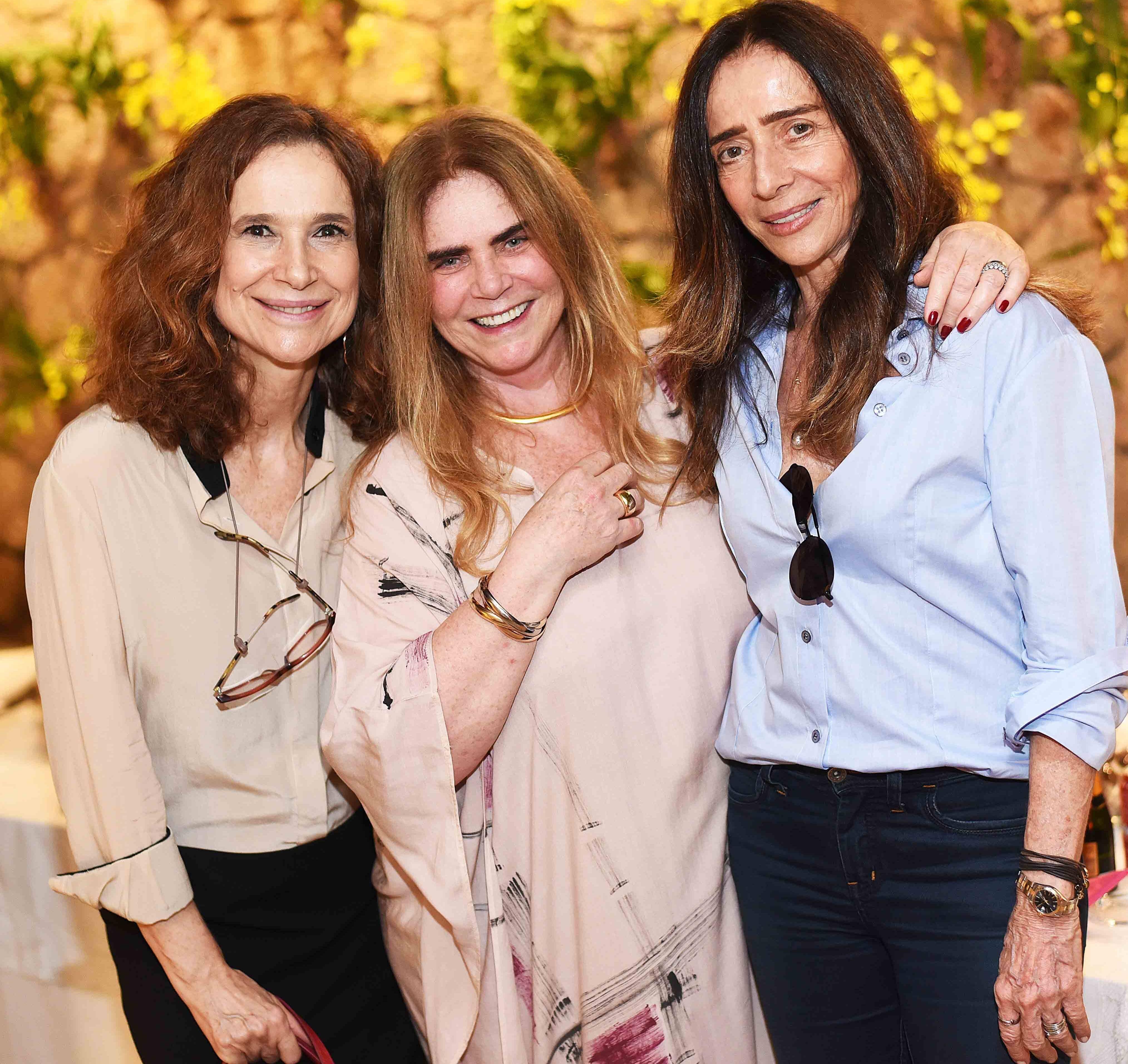 Jackie Sperandio, Maria Cecilia Brafman e Eza Viegas /Foto: Ari Kaye