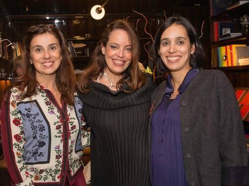 As criadoras do Iandê: Glaucia Nogueira, Isabel Brossolette Branco e Ioana de Melo /Foto: Divulgação