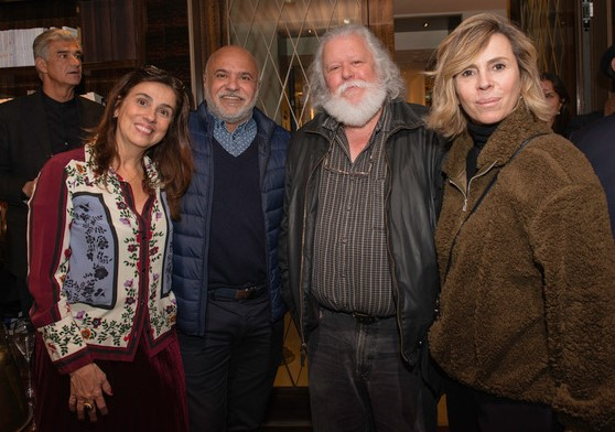 Glaucia Nogueira, Paulo Pereira, Marcio Madeira e Ana Garmendia /Foto: Divulgação