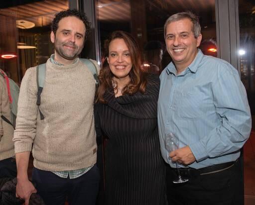 Julio Bittencourt, Isabel Brossolette Branco e João Kulcsar /Foto: Divulgação