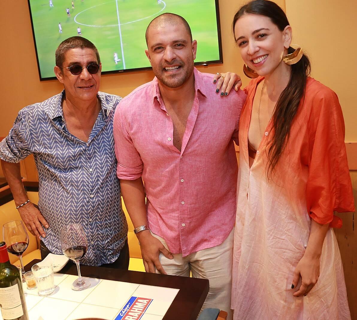 Zeca Pagodinho, Diogo Nogueira e Roberta Sá  /Foto: Murillo Tinoco (AGi9)