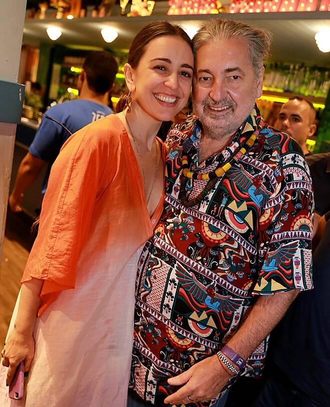 Roberta Sá e Moacyr Luz /Foto: Murillo Tinoco (AGi9)