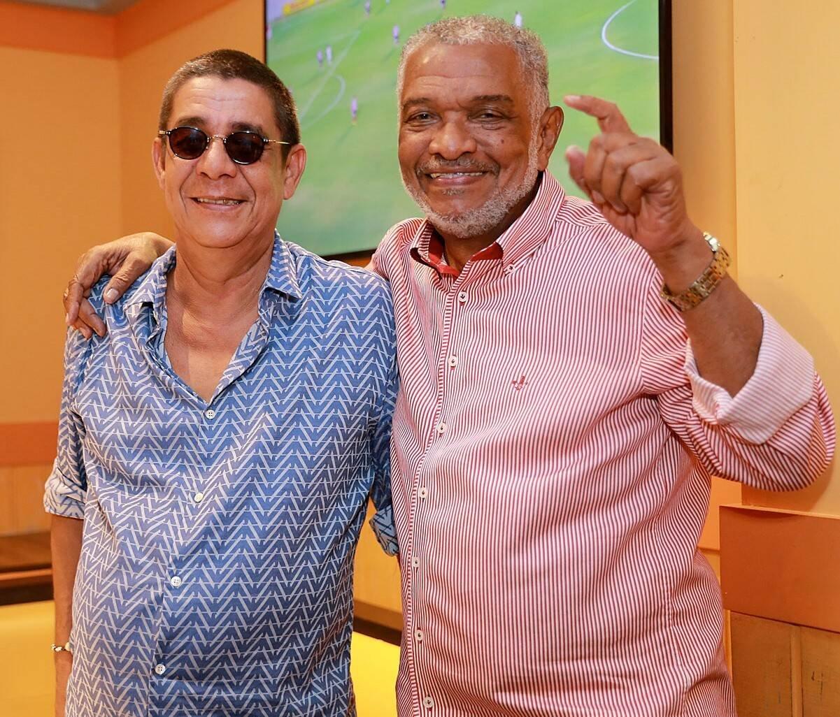 Zeca Pagodinho e Nelson Rufino /Foto: Murillo Tinoco (AGi9)