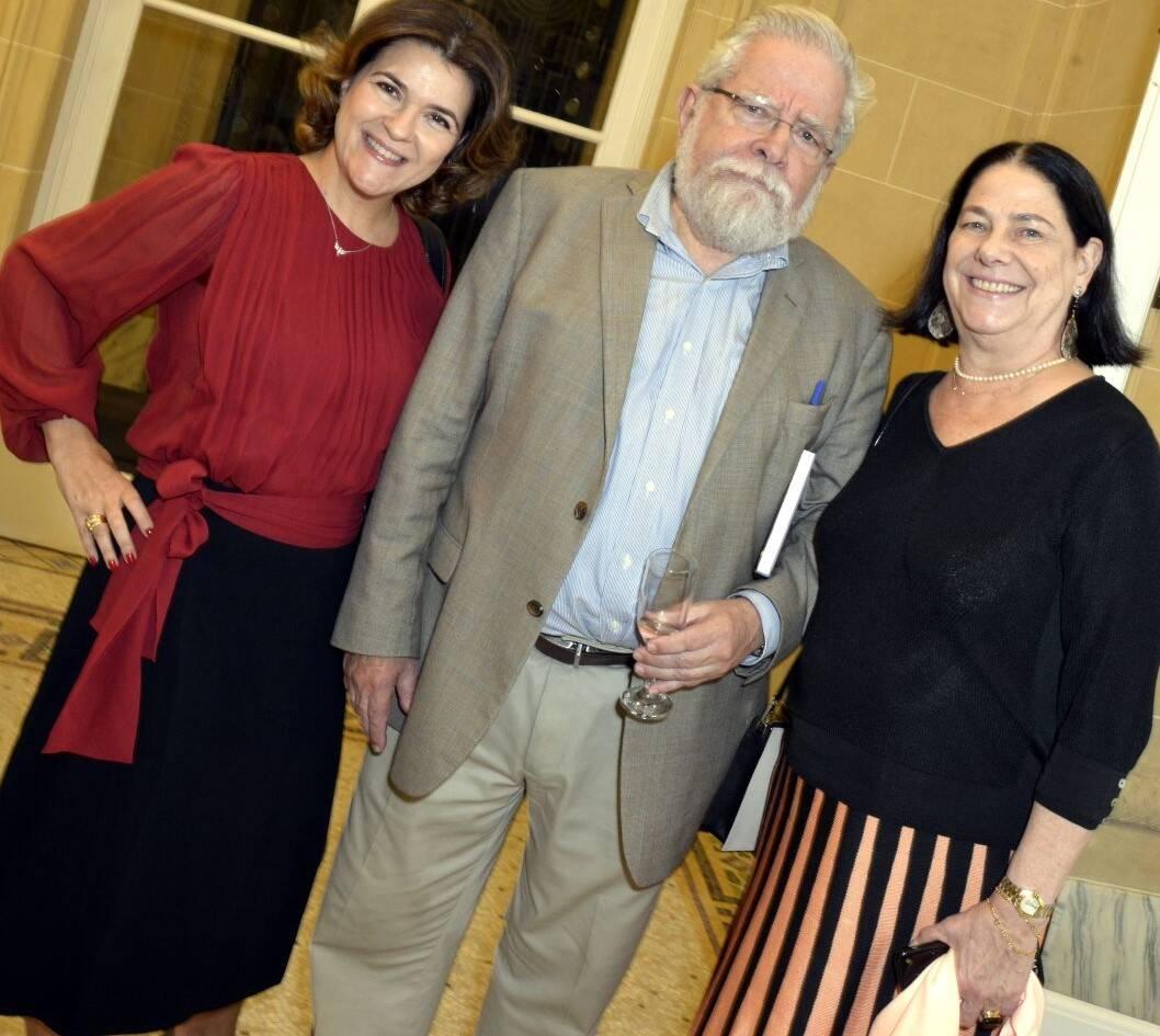 Cristiana Franco, Marcelo de Paiva Abreu e Vitória Werneck /Foto: Cristina Granato
