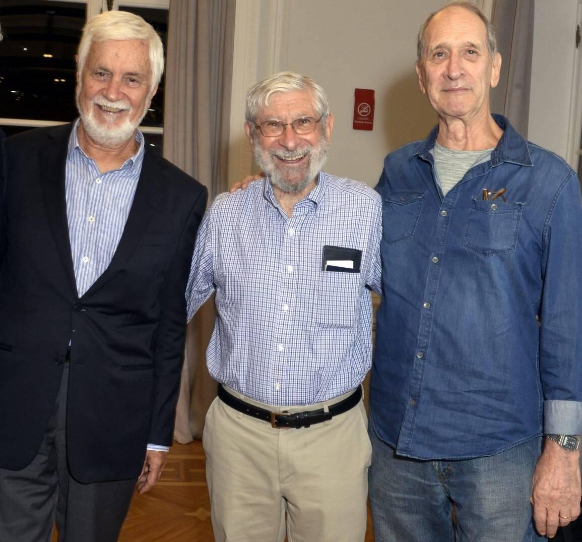Edmar Pacha, Albert Fishlow e Shepard Forman /Foto: Cristina Granato