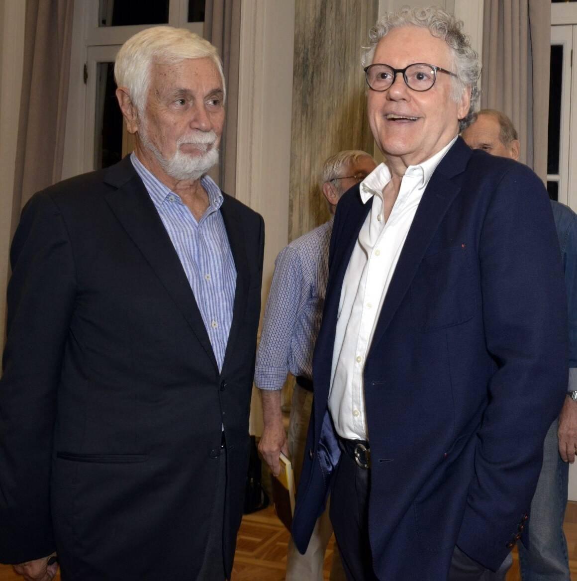 Edmar Pachá e Sérgio Henrique Abranches /Foto: Cristina Granato