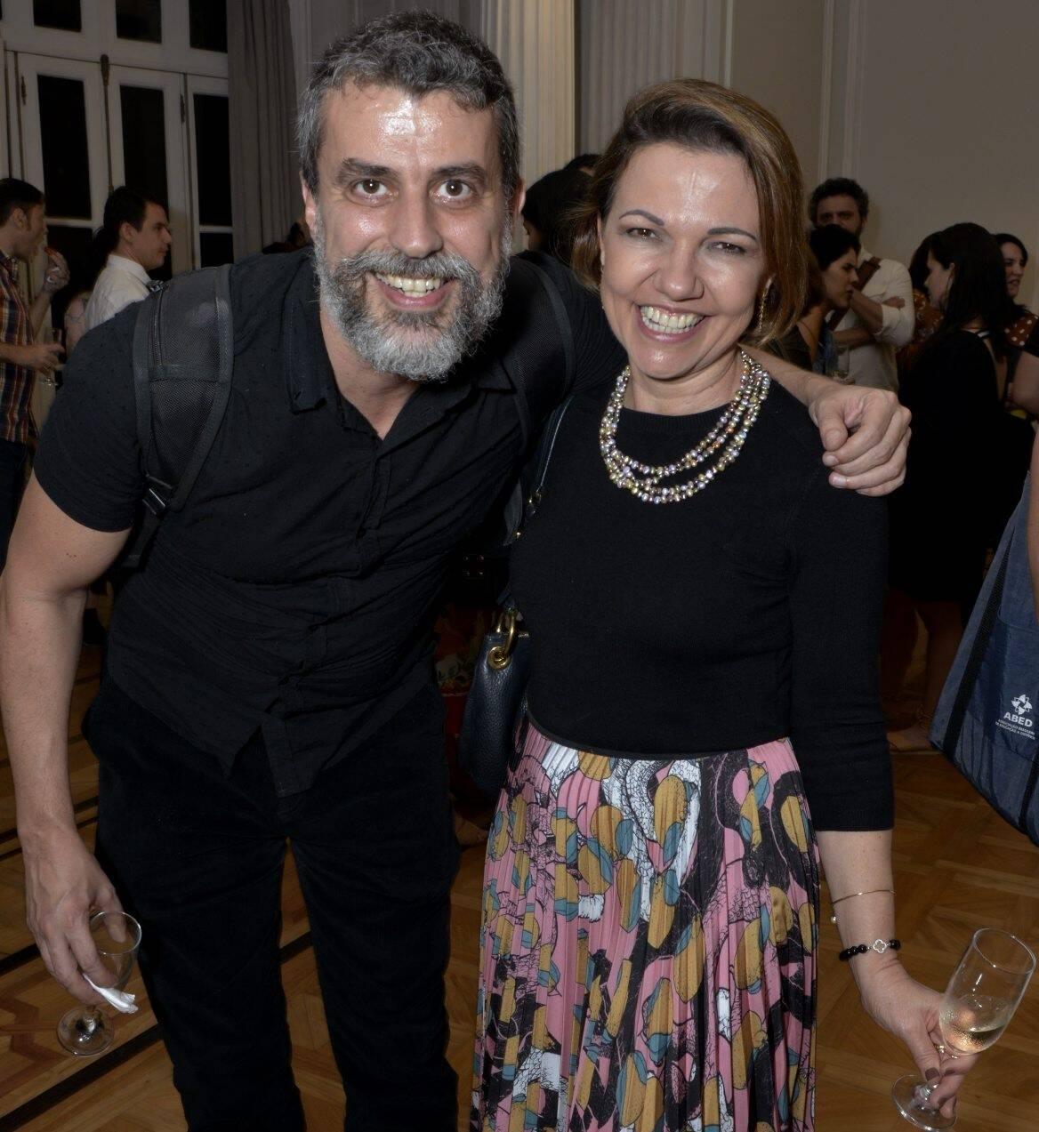 Gustavo Autran e  Silvana Batini /Foto: Cristina Granato