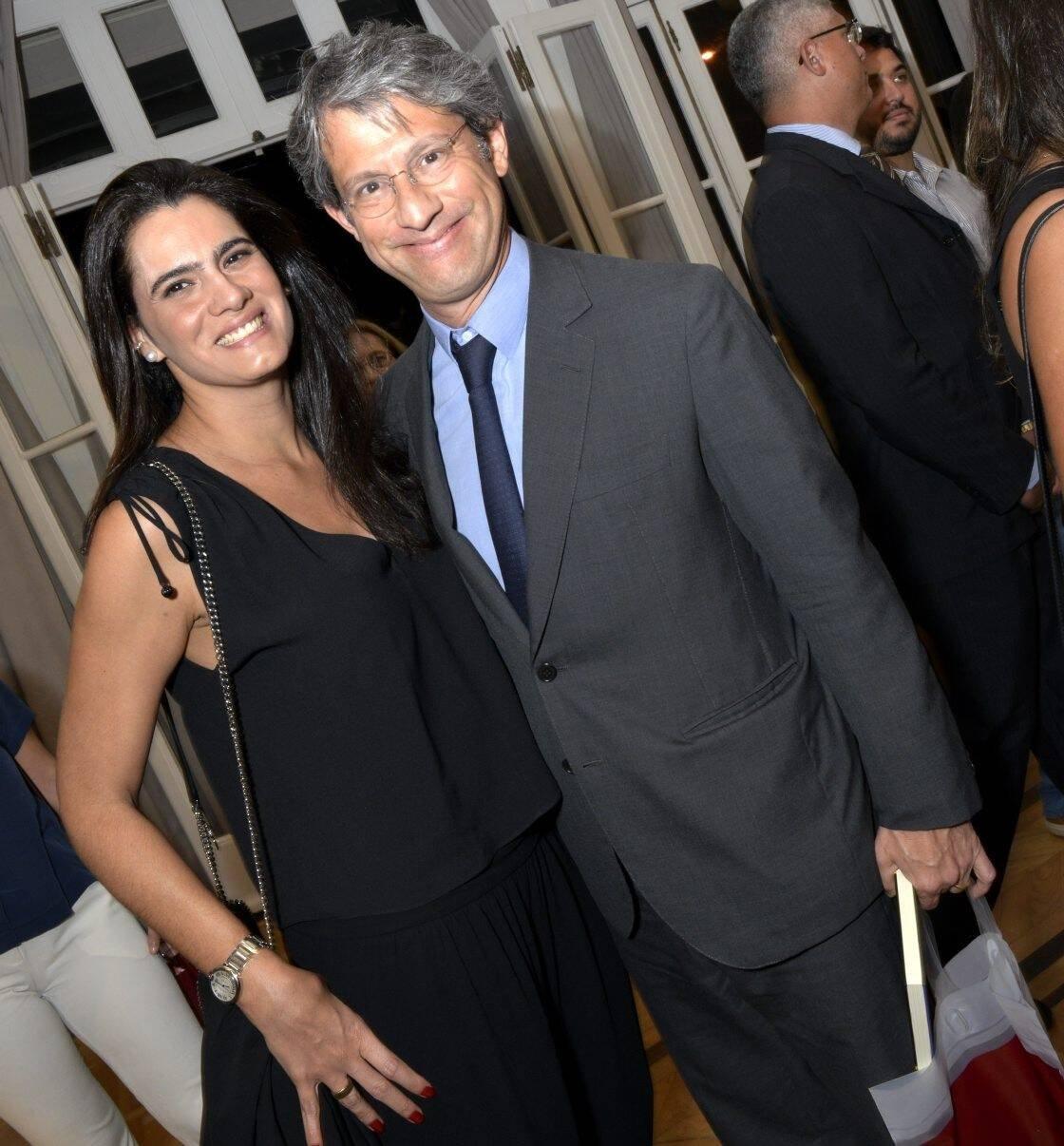 Joana Oakim e José Roberto de Castro Neves /Foto: Cristina Granato