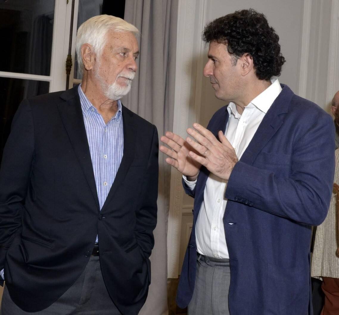 Edmar Pacha e Jorge Oakim /Foto: Cristina Granato