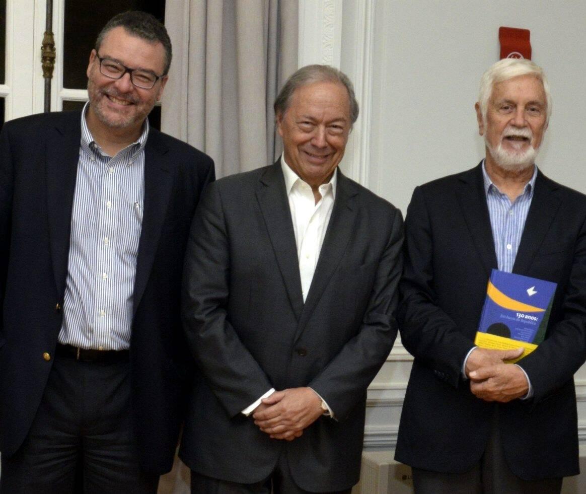 Marcelo Trindade, Pedro Malan e  Edmar Pacha  /Foto: Cristina Granato
