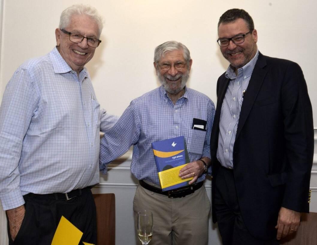 Simon Schwartzman, Albert Fishlow  e Marcelo Trindade /Foto: Cristina Granato