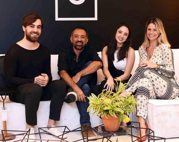 Guilherme Wentz, Marcus Ferreira, Larissa Vaconcelos e Andreza Botelho