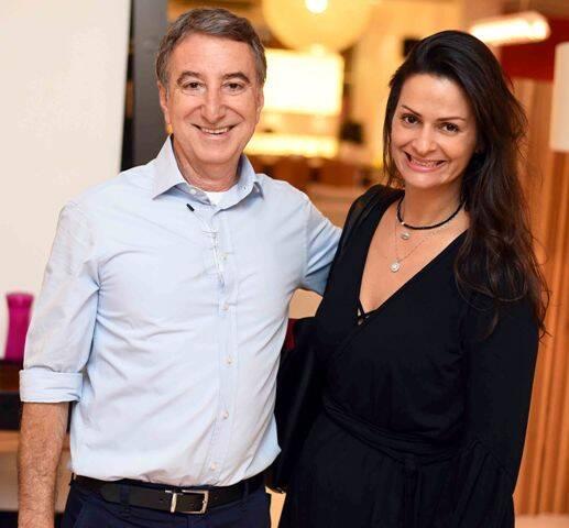 Salomão Crosman e Sandra Strauss