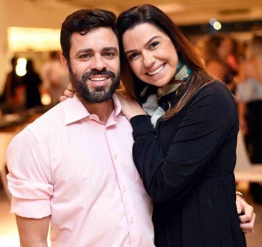 Ugo Nitzsche e Amanda Ambrósio