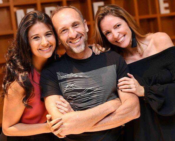 Yasmin Monnerat, Denilson Machado e Mayene Precioso
