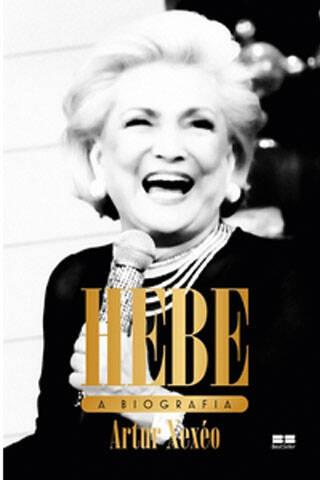 A alegria de Hebe na capa do livro
