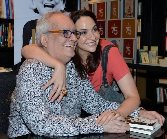 Artur Xexéo e Maria Beltrão