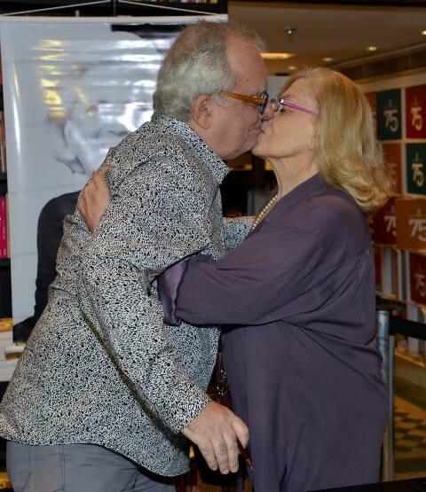 Artur Xexéo e Jacqueline Laurence