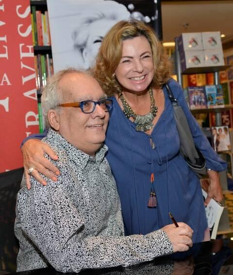 Artur Xexéo e Rosa Maria Araújo