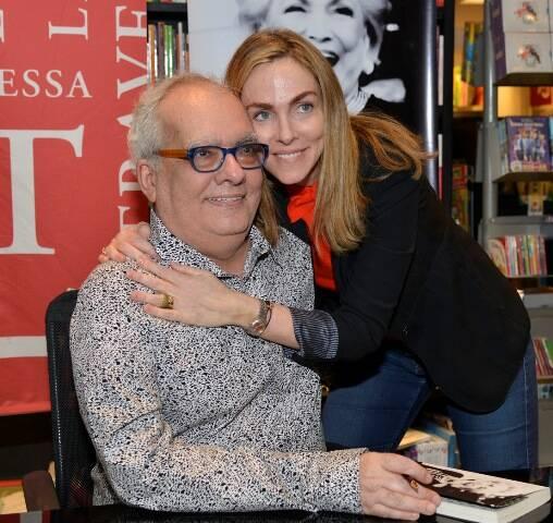 Artur Xexéo e Patricia Kogut
