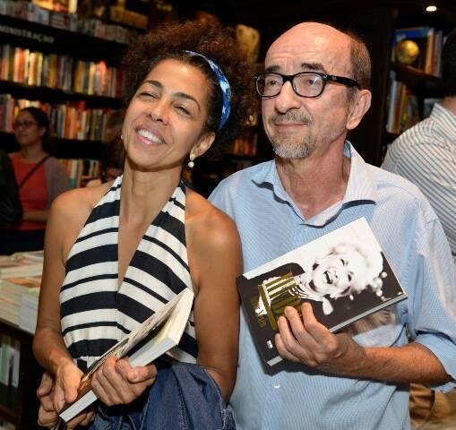 Lilian Sapucahy e Joaquim Ferreira dos Santos
