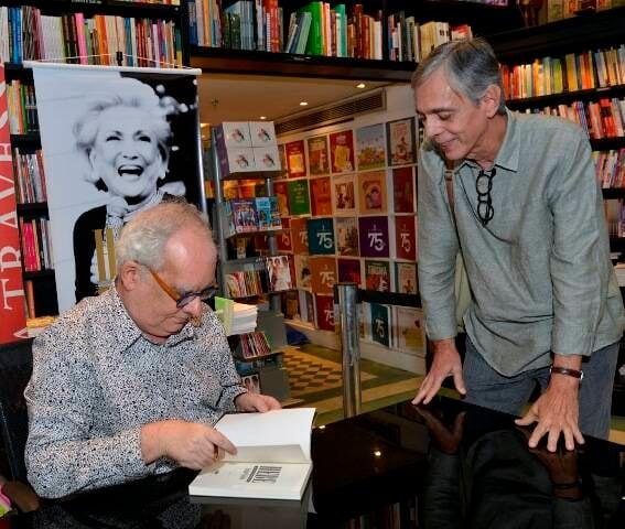 Artur Xexéo e Alfredo Ribeiro, o famoso Tutty Vasques