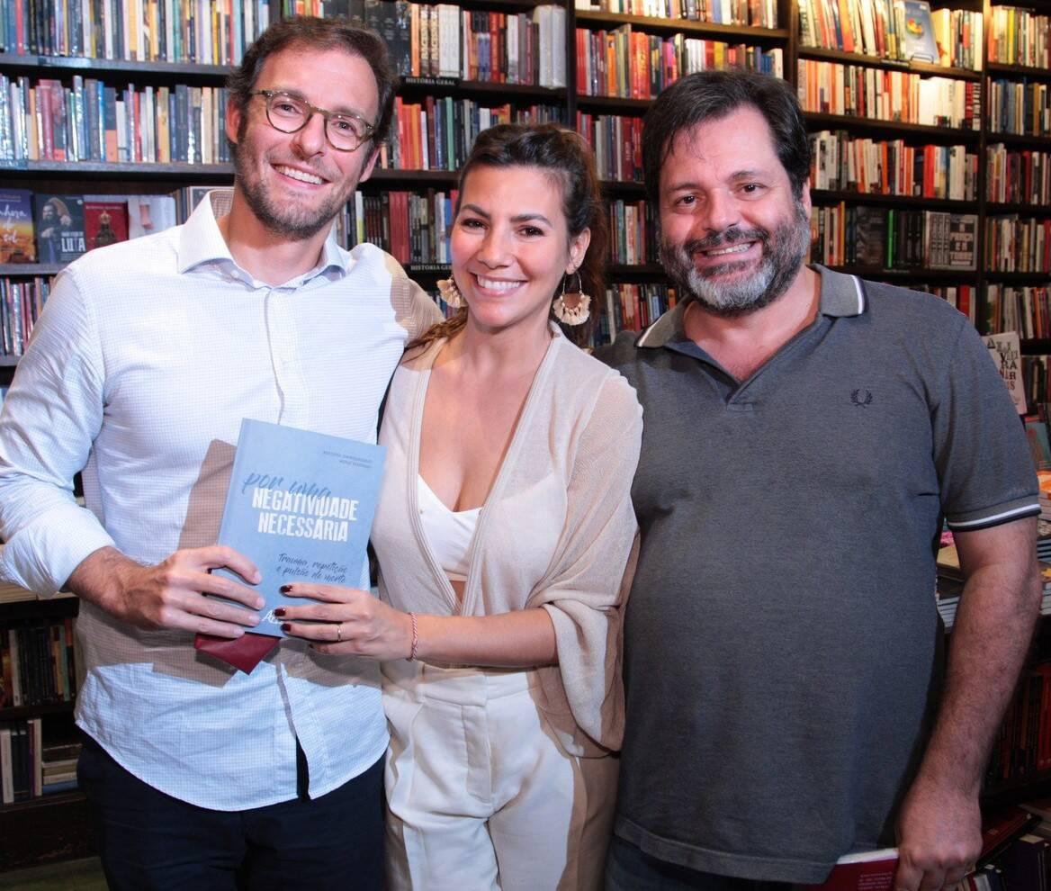 Ricardo Manela, Nicole Tamborindeguy e Gilberto Buffara /Foto: Vera Donato