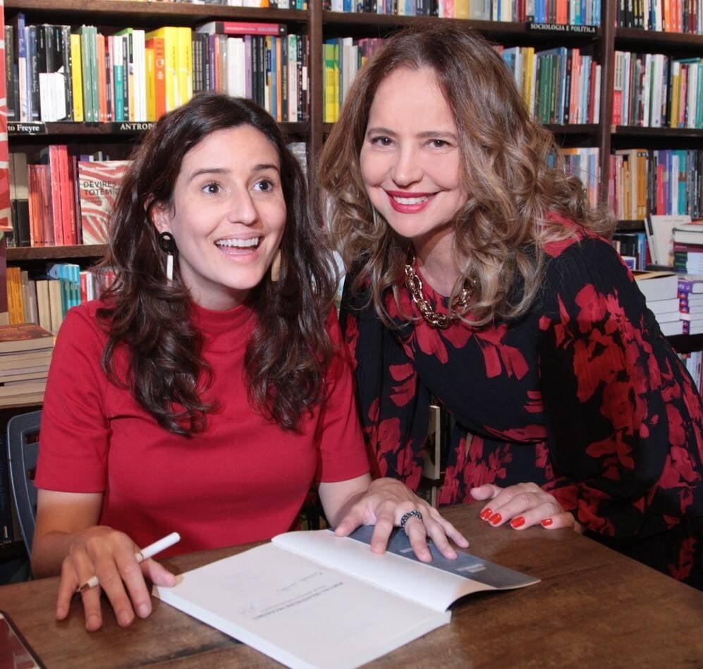 Marianna Tamborindeguy de Oliveira e Karmita Medeiros /Foto: Vera Donato