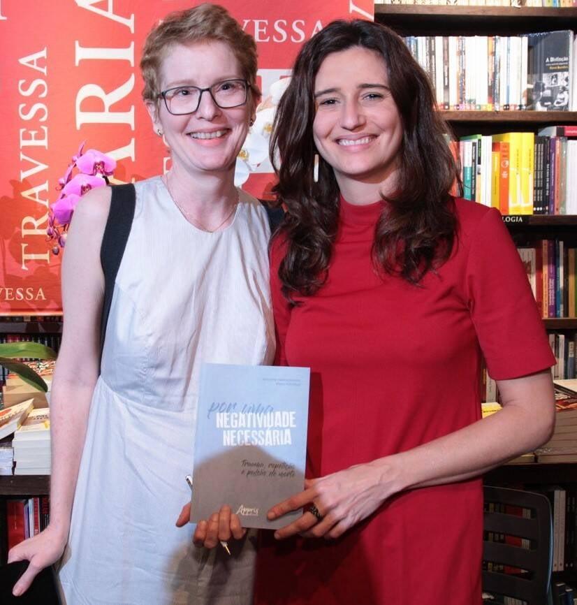 Monah Winograd e Marianna Tamborindeguy de Oliveira /Foto: Vera Donato