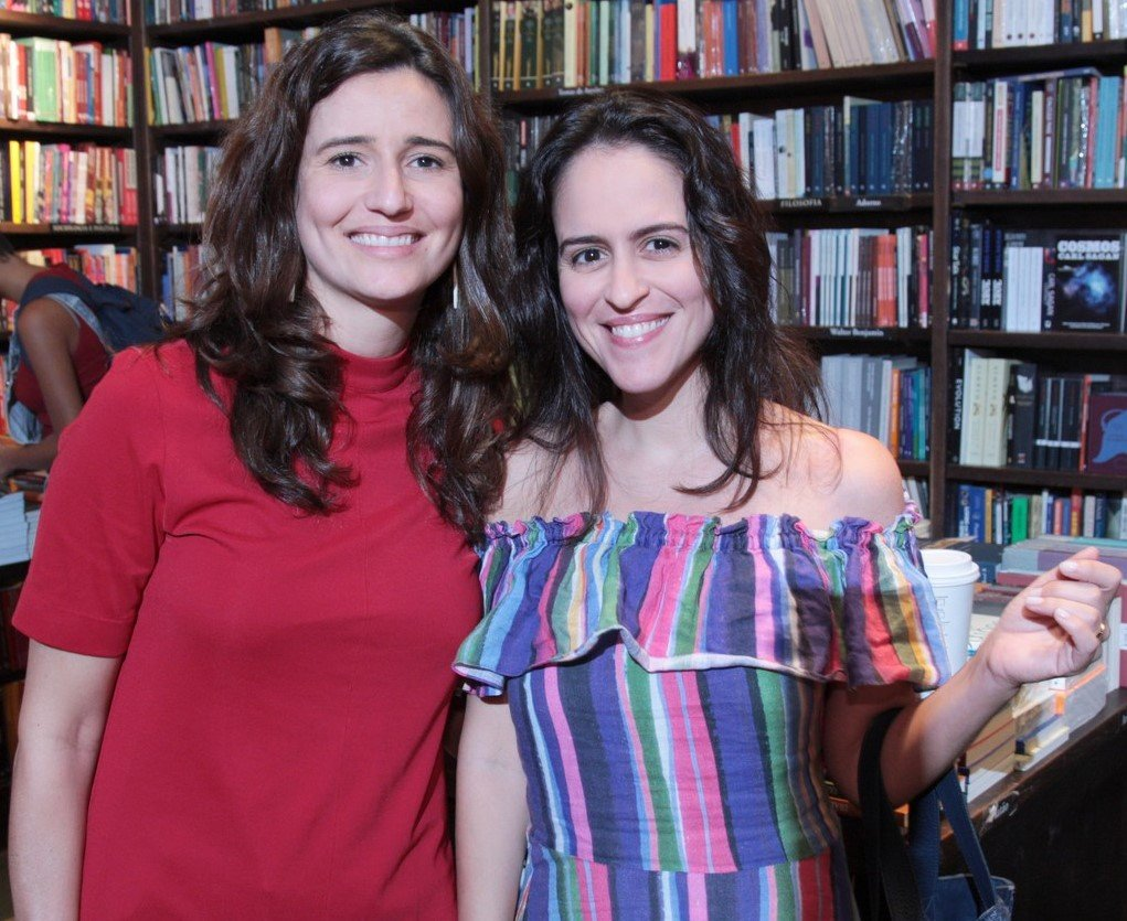 Marianna Tamborindeguy de Oliveira e Paula Bezerra de Mello /Foto: Vera Donato
