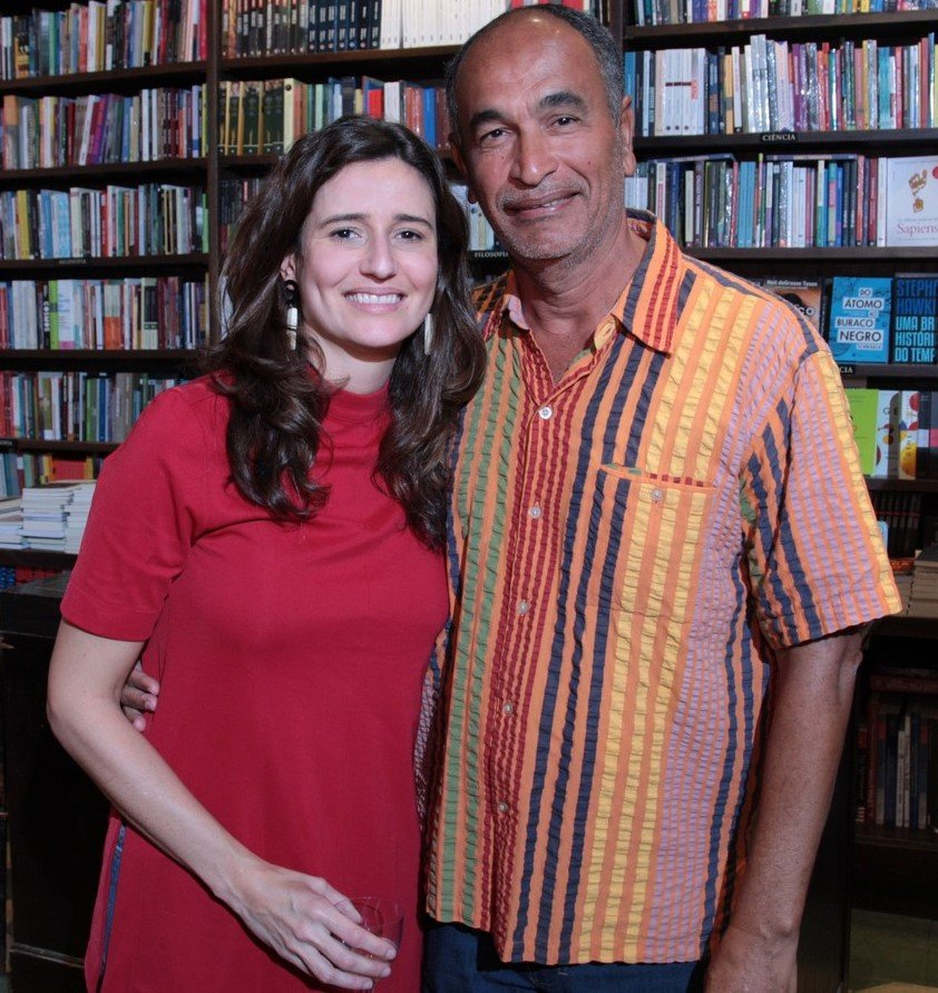 Marianna Tamborindeguy de Oliveira e Waldir Leite /Foto: Vera Donato