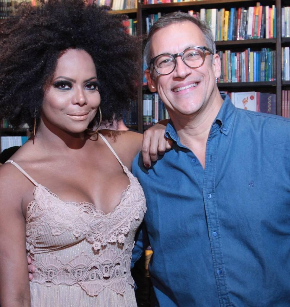 Adriana Bombom e  Adrien Cunha  /Foto: Vera Donato