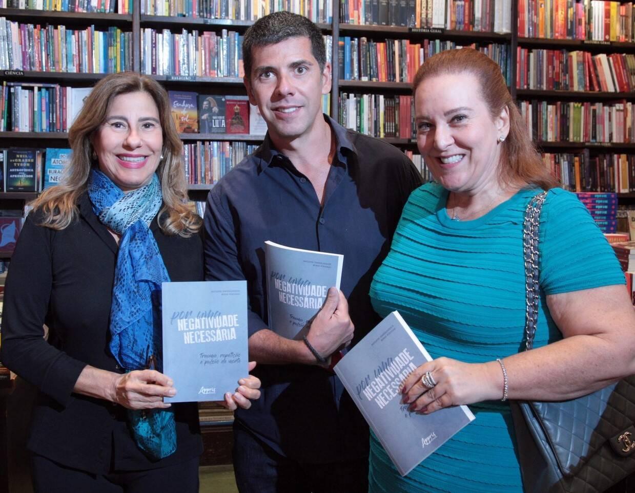 Alice Maria Tamborindeguy, João Ricardo Coelho e Priscilla Levinsohn /Foto: Vera Donato