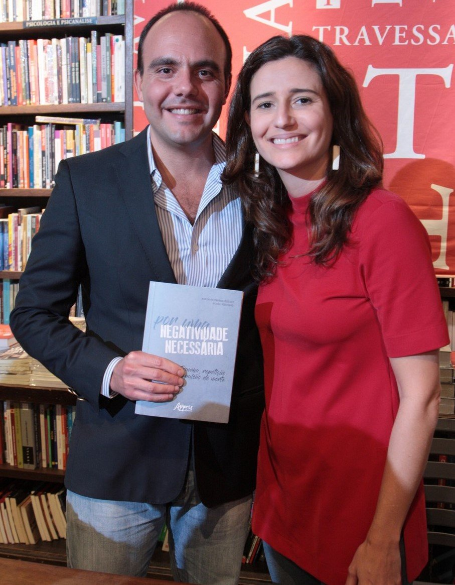 Antonio Paulo Pitanguy Müller e Marianna Tamborindeguy de Oliveira/Foto: Vera Donato
