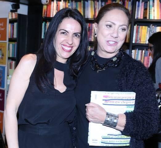 Maria Camargo e Eliane Giardini