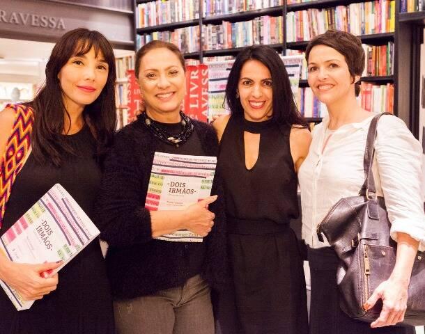 Rita Elmor, Eliane Giardini, Maria Camargo e Joana César