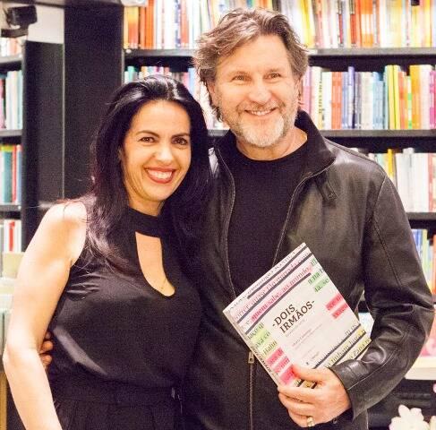 Maria Camargo e Antônio Calloni