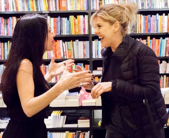 Maria Camargo e Barbara Paz