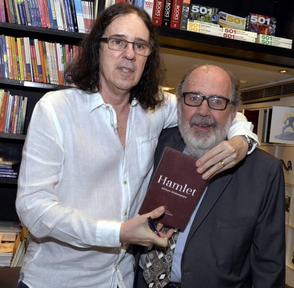 Geraldo Carneiro e Cacá Diegues /Foto: Cristina Granato