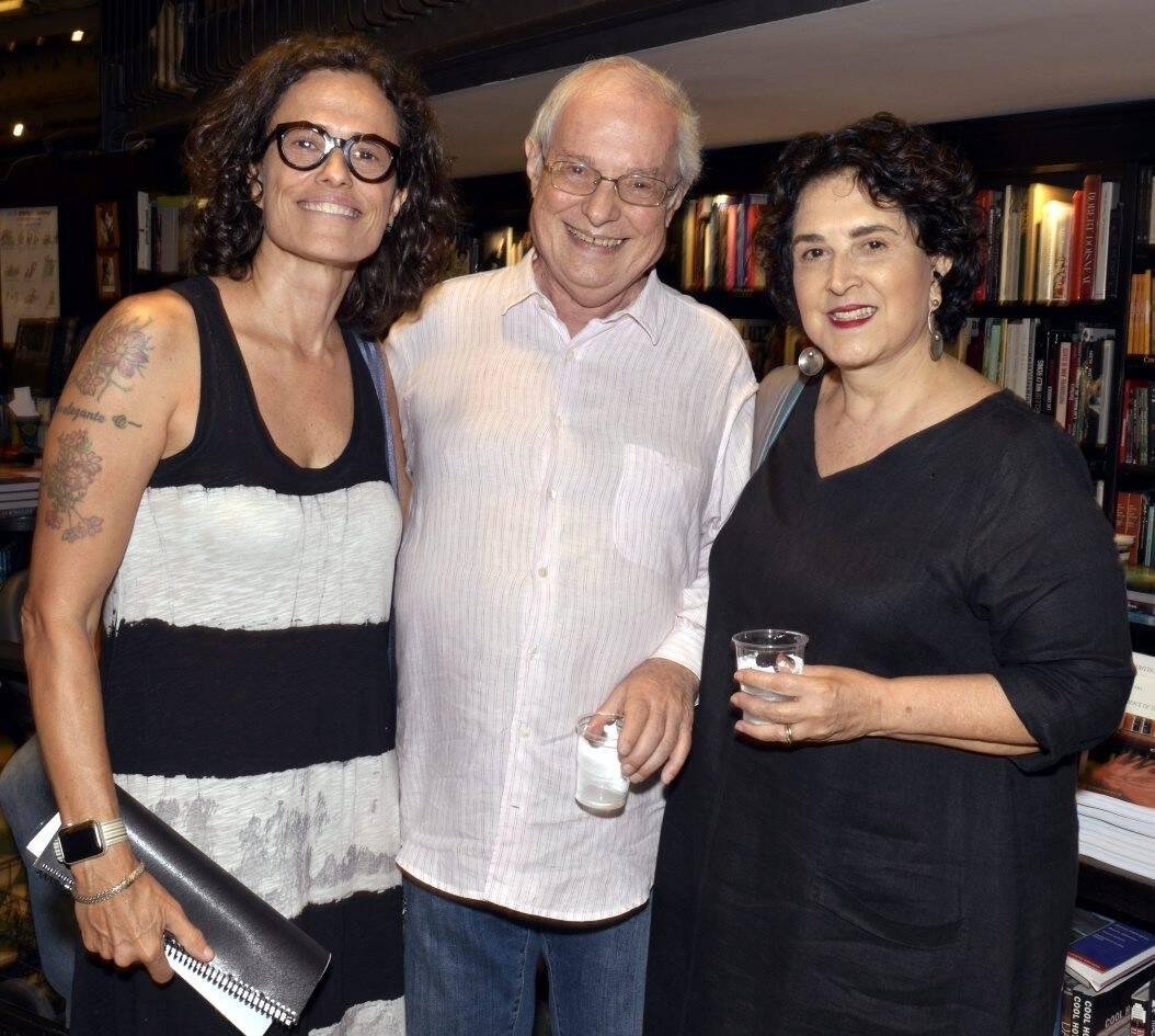 Zélia Duncan , Francis e Olivia Hime /Foto: Cristina Granato