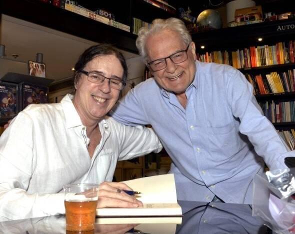 Geraldo Carneiro e Othon Bastos /Foto: Cristina Granato
