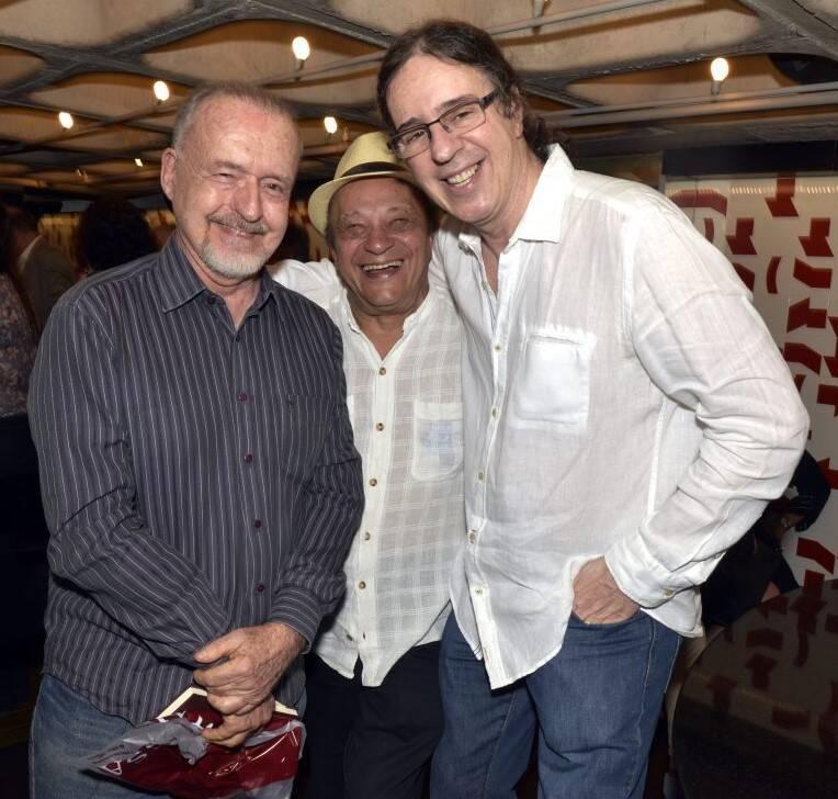 Ricardo Cravo Albim, Mano Mello e Geraldo Carneiro /Foto: Cristina Granato