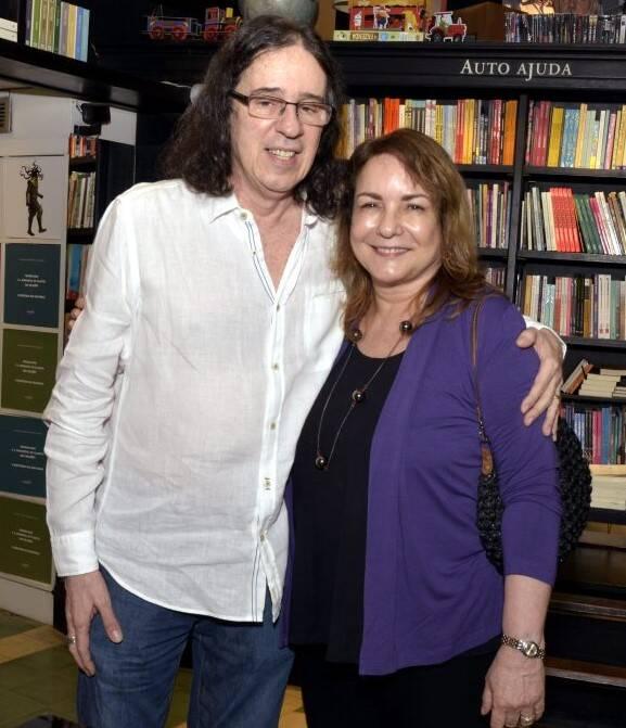 Geraldo Carneiro  e Bia Correa do Lago /Foto: Cristina Granato