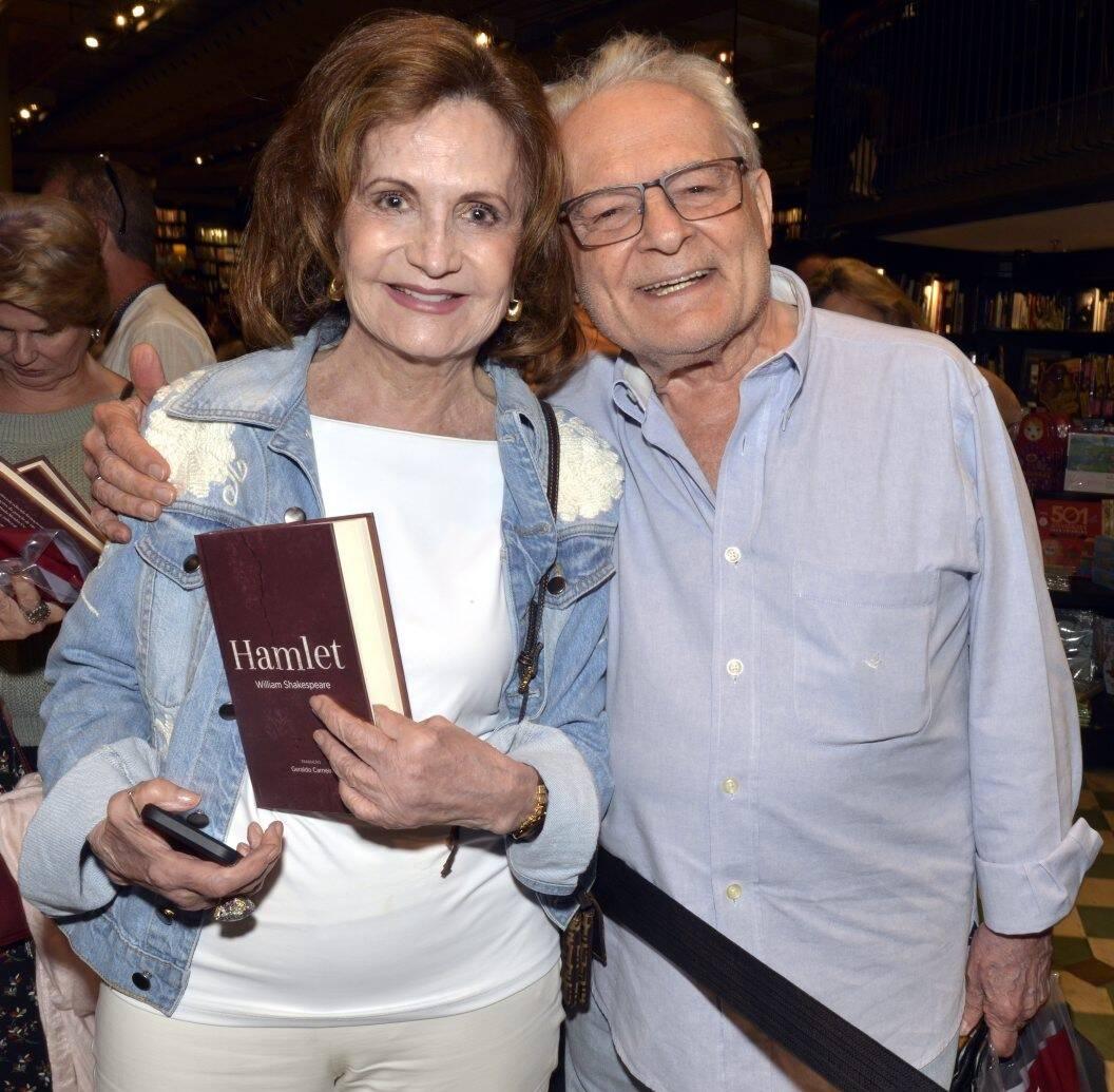 Rosamaria Murtinho  e Othon Bastos /Foto: Cristina Granato