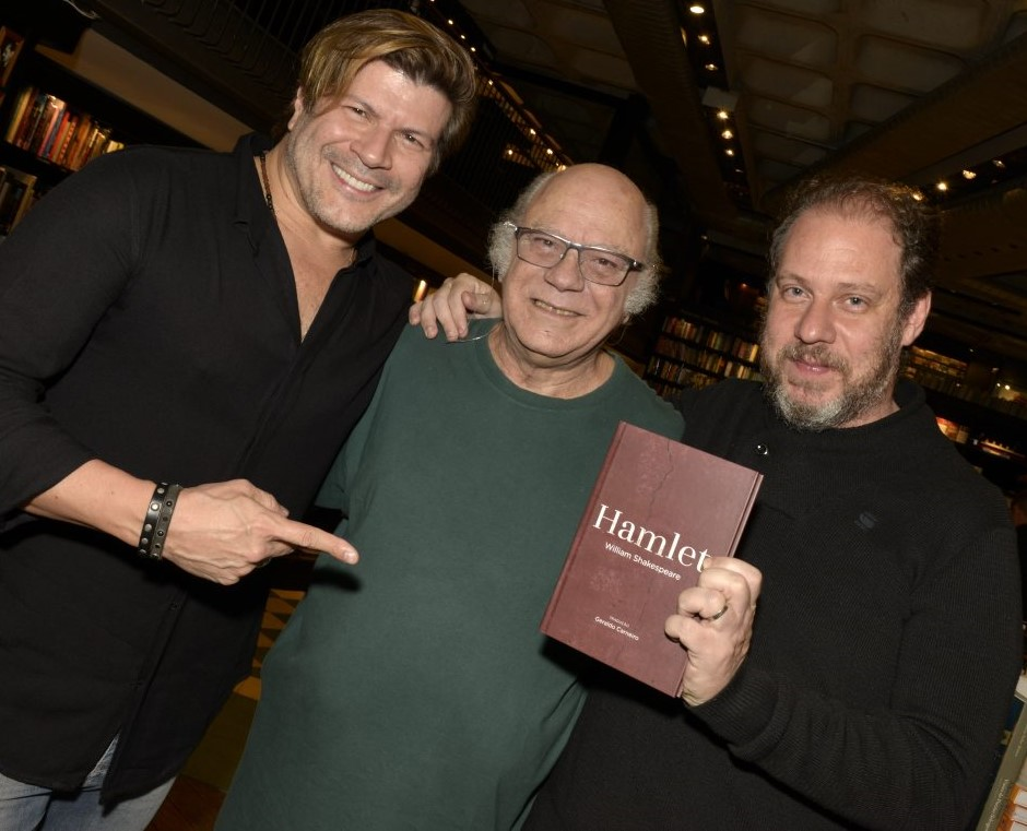 Paulo Ricardo, Tonico Pereira e Bruce Gomlevsky /Foto: Cristina Granato